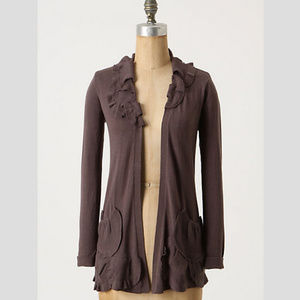{Anthropologie} Delicate Drafts Cardigan Size XS